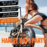 Harley Days Party im ATMOS
