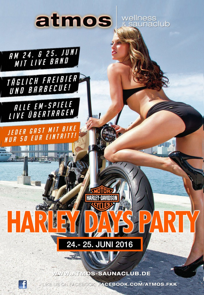 Harley Days Party im ATMOS